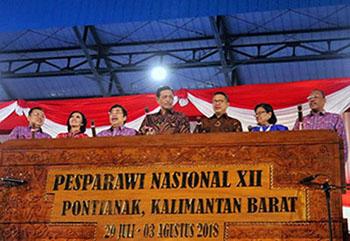Pembukaan Pesparawi XII 2018